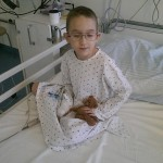 Adam awaiting operation