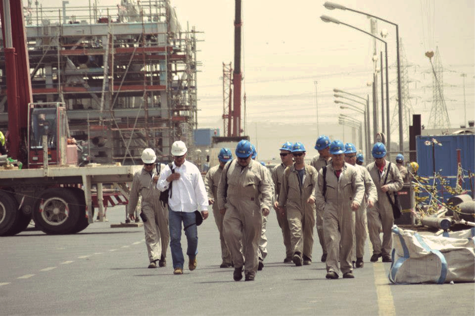 Polish Welders Pipefitters in Kuwait