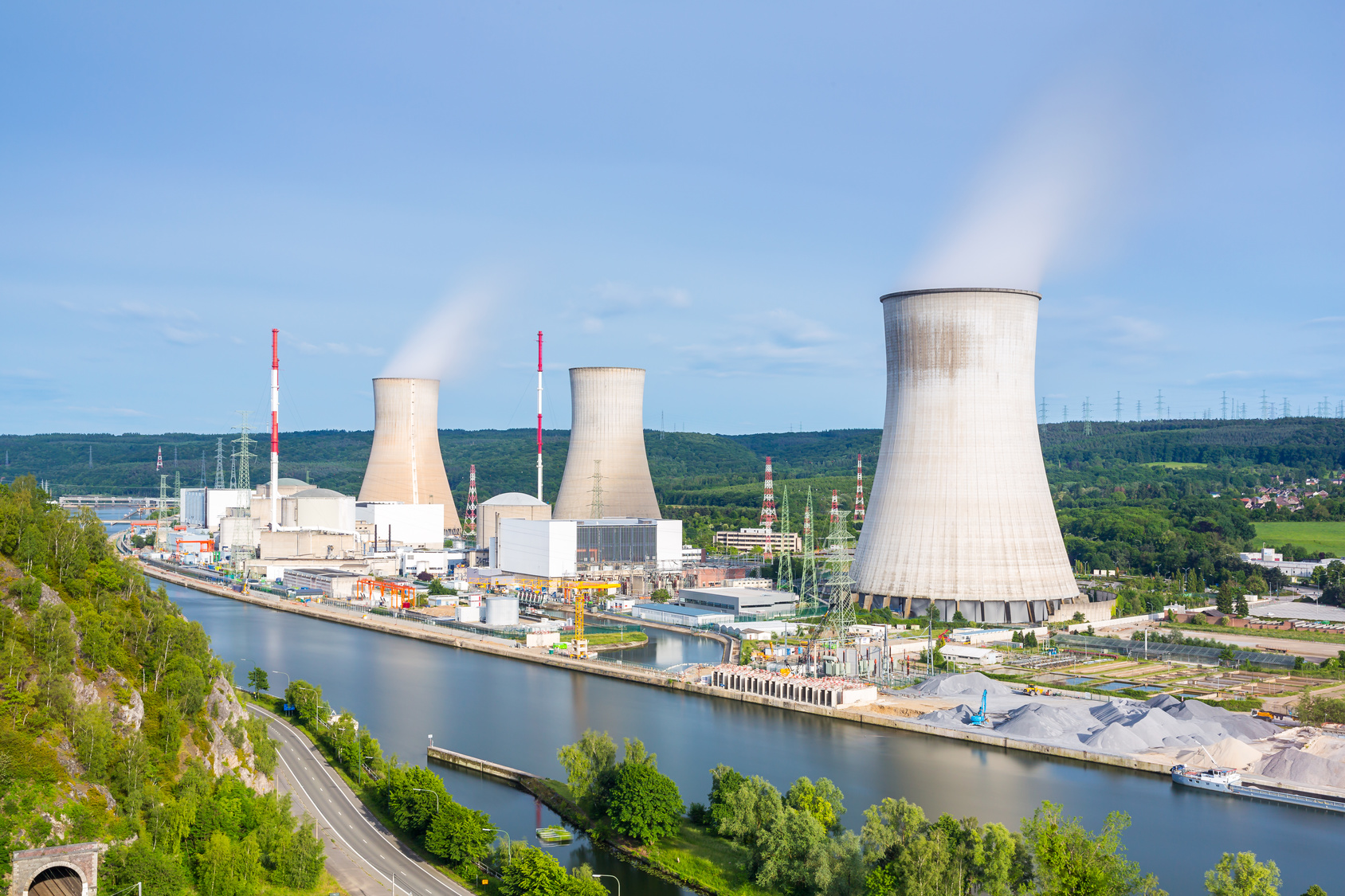 Marodes Atomkraftwerk Tihange